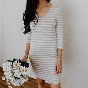 Everyday Summer Dress- Heather Grey